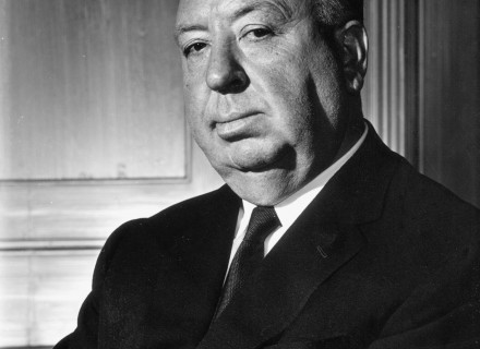 July 25, 1962 Portrait of Alfred Hitchcock.  T24529_5 Copyright CBS Broadcasting, Inc., All Rights Reserved, Credit: CBS Photo Archive