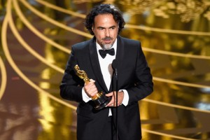HOLLYWOOD, CA - FEBRUARY 28: Director Alejandro Gonzalez Inarritu accepts the Best Director award for 'The Revenant' onstage during the 88th Annual Academy Awards at the Dolby Theatre on February 28, 2016 in Hollywood, California. (Photo by Kevin Winter/Getty Images)