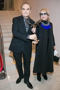 Глеб Панфилов и Инна Чурикова