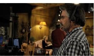 """Пол Лазарус на съемках сериала """"Кто такая Саманта?"""""""