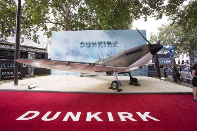 Премьера фильма Дюнкерк в Лондоне