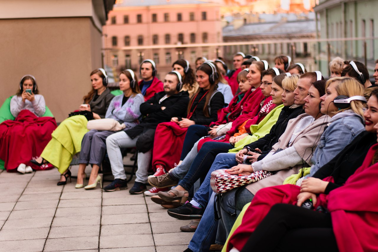 Кино на крыше Александринского театра КультКино cultofcinema.com