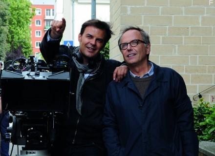 Франсуа Озон и Фабрис Лукини на съемках триллера В доме КультКино cultofcinema.com