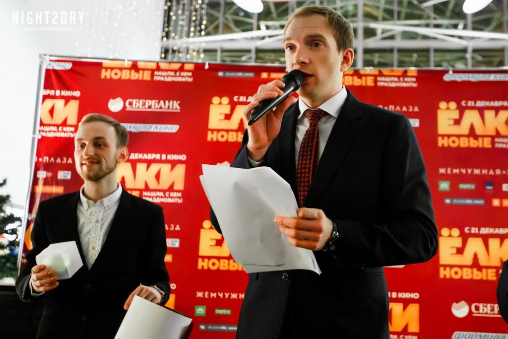 Андрей Бурковский на премьере фильма Елки новые в Петербурге КультКино cultofcinema.com