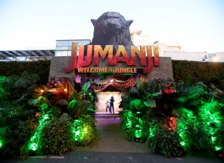 Hollywood, CA - December 11, 2017 - A general view of atmosphere at Columbia Pictures Los Angeles premiere of JUMANJI: WELCOME TO THE JUNGLE