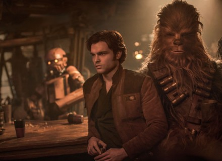 Рецензия на фильм Хан Соло. Звездные войны. Истории КультКино cultofcinema.com  Alden Ehrenreich is Han Solo and Joonas Suotamo is Chewbacca in SOLO: A STAR WARS STORY.