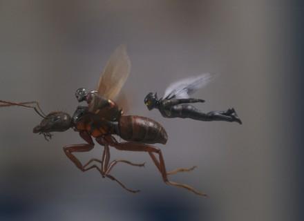 Marvel Studios ANT-MAN AND THE WASP..L to R: Ant-Man/Scott Lang (Paul Rudd) and The Wasp/Hope van Dyne (Evangeline Lilly)..Photo: Film Frame..©Marvel Studios 2018  Рецензия на фильм Человек-муравей и Оса КультКино cultofcinema.com
