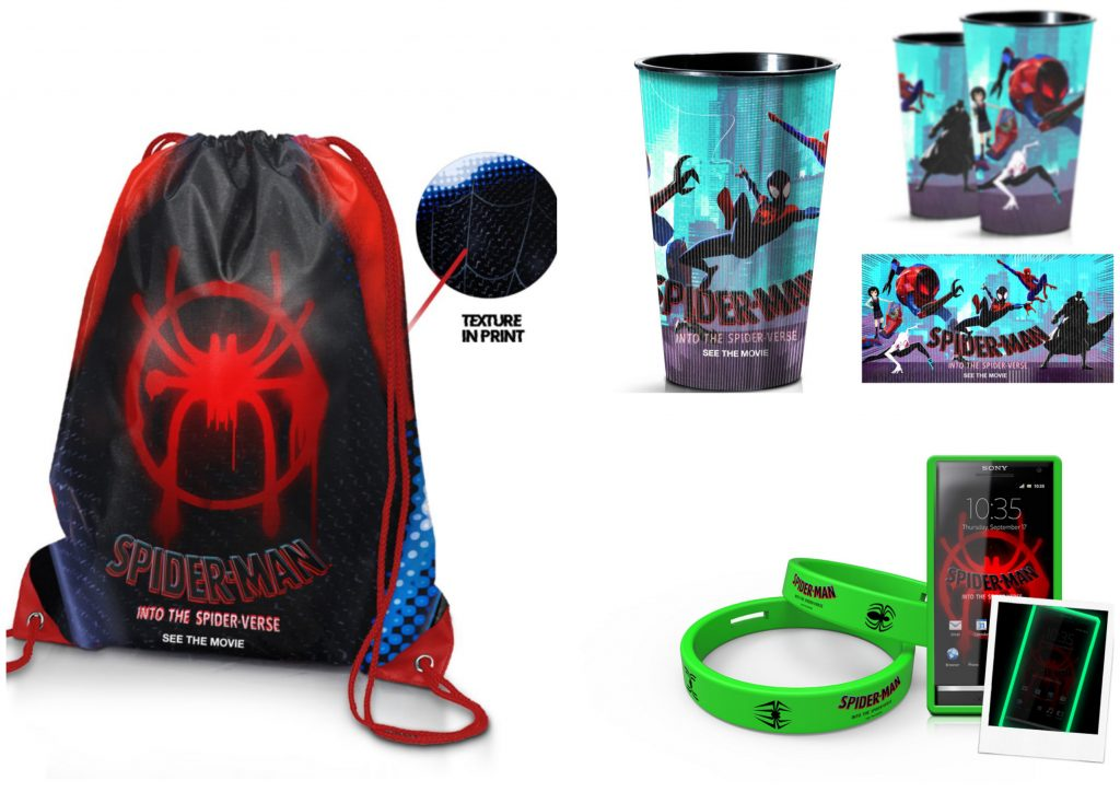Выиграйте сувенирную продукцию к фильму Человек паук через вселенные КультКино cultofcinema.com