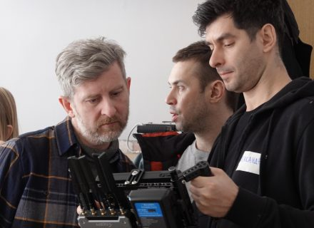 Первые кадры со съемок нового фильма Николая Хомерики КультКино cultofcinema.com